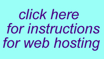 web hosting instructions